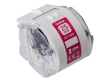 Brother Etikette/Farvebånd 25mm CZ-1004 - VC-500W