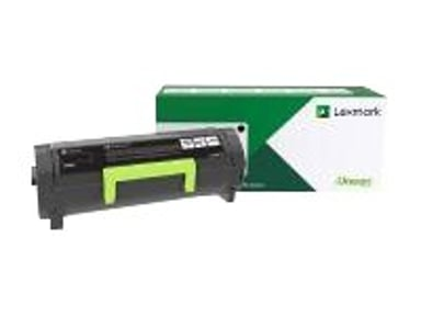 Lexmark Toner Svart 6K Return - MS321/MS421/MS521/MS621/MS622