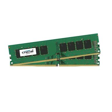 Crucial 8GB DDR4 2666MHz CL19 (2X4GB) Udimm 8GB 2,666MHz DDR4 SDRAM DIMM 288-pin