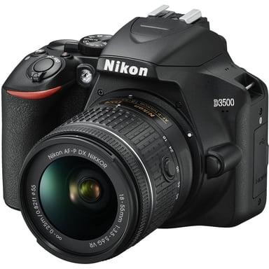 Nikon D3500 + AF-P DX 18-55 f/3,5-5,6G VR null