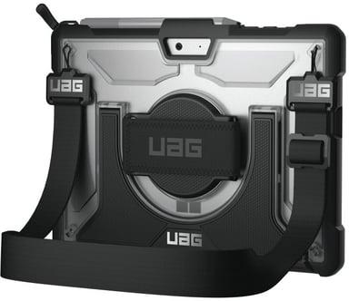 Urban Armor Gear UAG Plasma Case + Shoulder Strap Microsoft Surface Go Svart Sølv