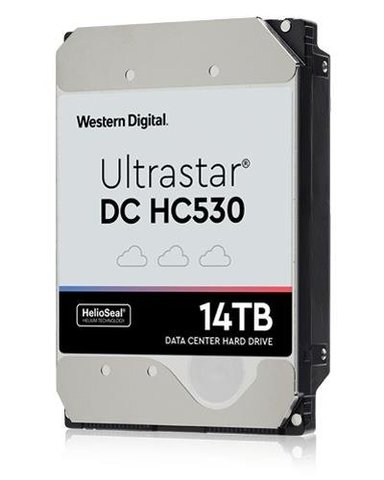 "WD Ultrastar DC HC530 WUH721414ALE6L4 14TB 3.5"" Serial ATA-600"