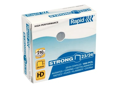 Rapid Staples Strong 23/24 Galv 1000pcs null