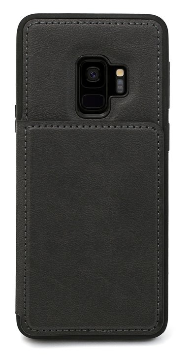 Cirafon Genuine Leather Flip Wallet Samsung Galaxy S9 Musta