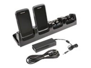 Honeywell Ladd/Basstation Kit 4-Slot Inkl Strömadapter - Dolphin CT50/C