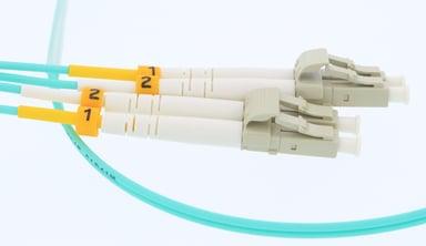 Direktronik LC-LC Multimode Duplex Teal 30m LC/UPC LC/UPC OM3 30m 30m
