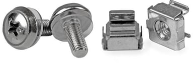 Startech 50 Pkg M5 Mounting Screws & Cage Nuts