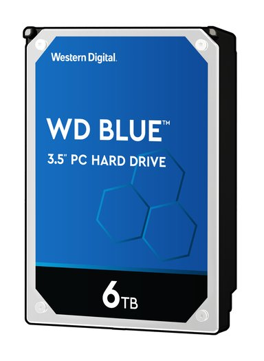 "WD Blue 6TB 3.5"" Serial ATA-600"