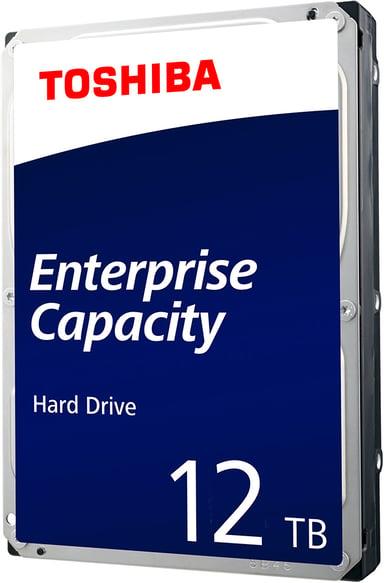 "Toshiba Enterprise Capacity 512E 12TB 3.5"" Serial Attached SCSI 3"