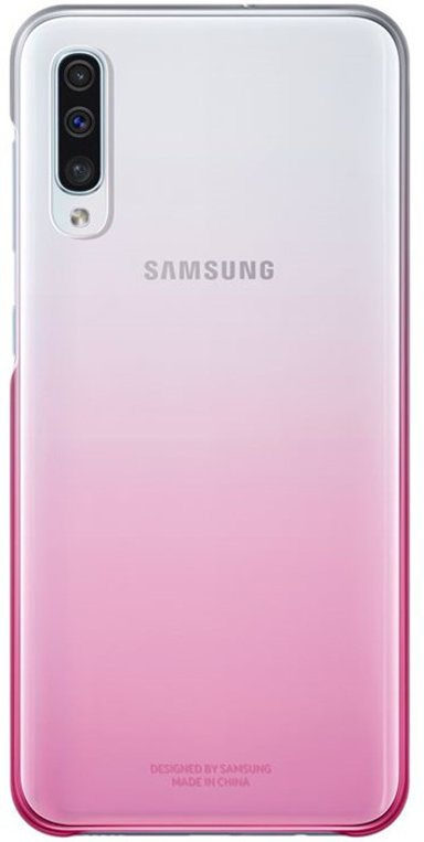 Samsung Gradation Cover EF-AA505 Samsung Galaxy A50 Roze