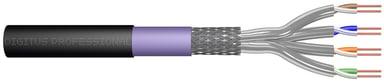 Digitus Bulk cable CAT 7 Trådpar i metallfolie (PiMF) Svart 100m