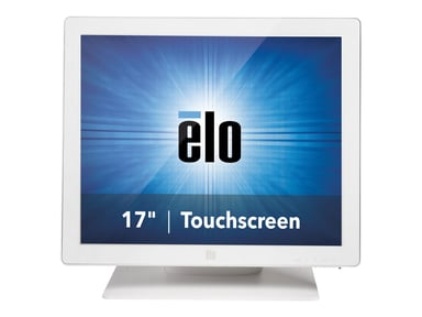 "Elo 1723L 17"" LCD LED Backlight iTouch VGA/DVI White"