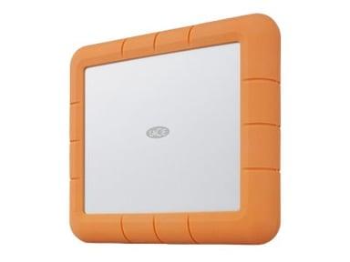 LaCie Rugged RAID Shuttle STHT8000800 4Tt Hopea; Oranssi