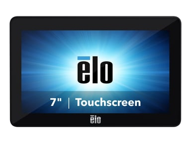 """Elo 0702L 7"""" 800x480 10-Touch USB Svart Inget Stativ null"""