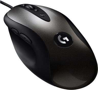 Logitech MX518 16,000dpi Muis Met bekabeling Zwart