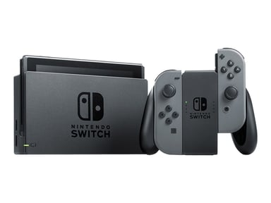 Nintendo Switch. 2019 Grå Sort