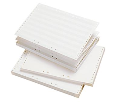 "Generic Datapaper Tabulator Unprinted 210X12"" OH 2500 Sheet"
