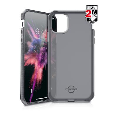 Cirafon Spectrum Frost Drop Safe iPhone 11 Pro Max Gøy svart