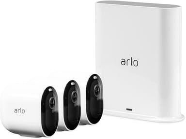 Arlo Pro 3 VMS4340P Base Station & 3 Cameras null