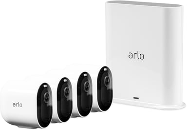 Arlo Pro 3 VMS4440P Base Station & 4 Cameras null