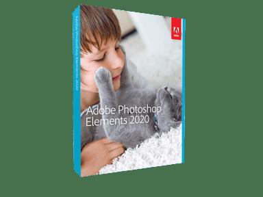 Adobe Photoshop Elements 2020 Win/Mac Englanninkielinen DVD