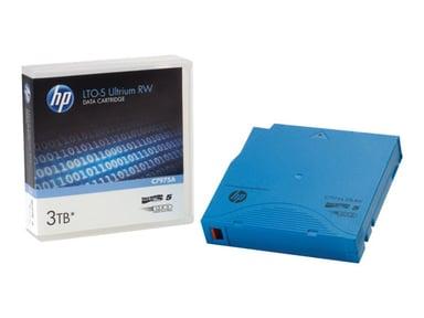 HPE Ultrium RW Custom Labeled No Case Data Cartridge LTO Ultrium 3Tt 20kpl