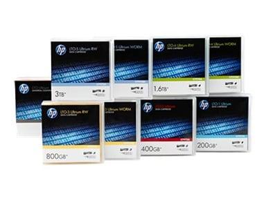 HPE Ultrium RW Eco Case Data Cartridge LTO Ultrium 6.25Tt 20kpl