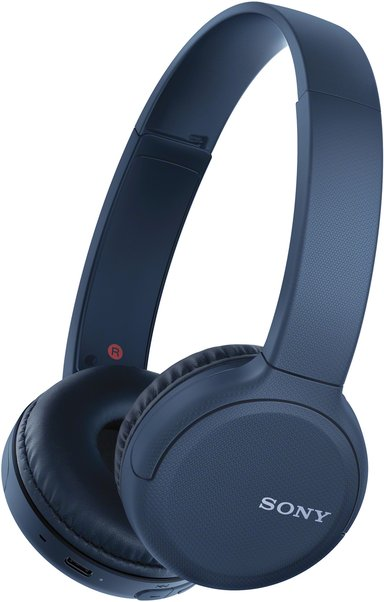 Sony WH-CH510 trådlösa hörlurar med mikrofon Blå
