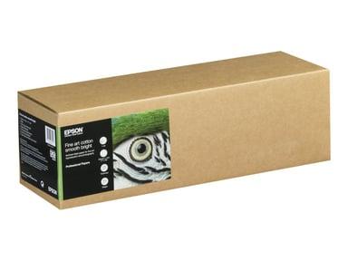"Epson Paper Fine Art Cotton Smooth Bright 17"" 432cm 15m Roll"