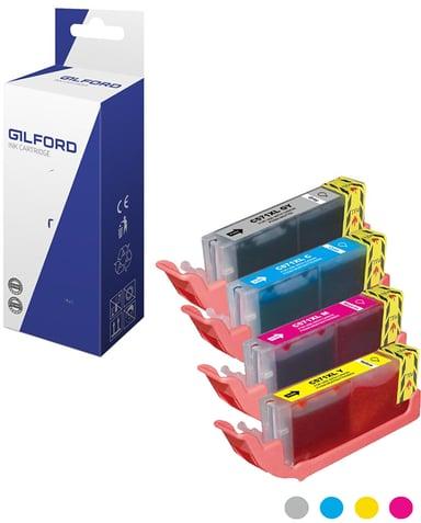Gilford Bläck Färg Kitl - CLI-571