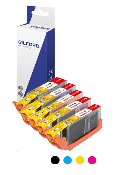 Gilford Bläck Färg Kit - 6431B001