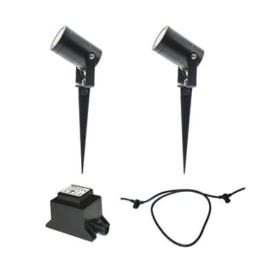LightsOn Luna Aloituspakkaus 2 x Lamppua + Muuntaja + Kaapeli null