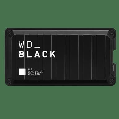 WD Black P50 Game Drive SSD 0.5TB 0.5TB Svart