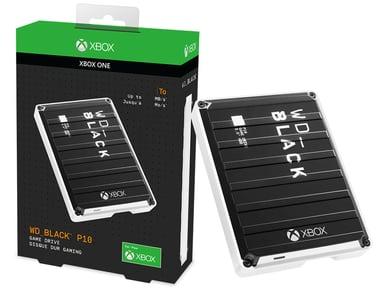 WD Black P10 Game Drive Xbox One 5TB 5TB Svart
