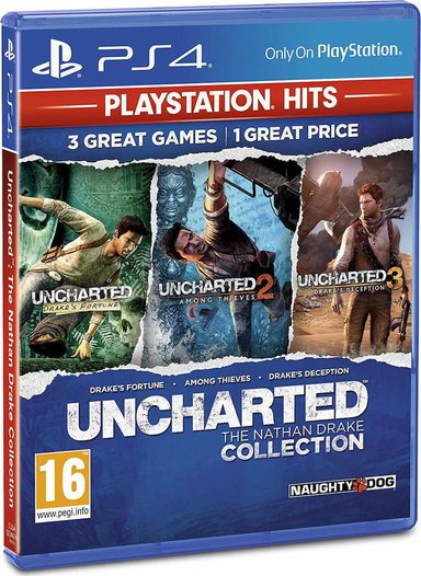Sony Uncharted: The Natan Drake Collection