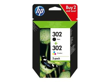 HP Blekk Combo 302 - 2-Pack