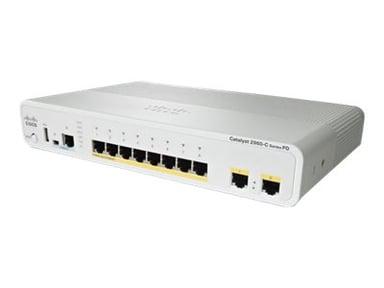 Cisco Catalyst Compact 2960CPD-8PT-L
