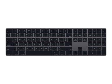 Apple Magic Keyboard with Numeric Keypad Trådløs Tysk Grå