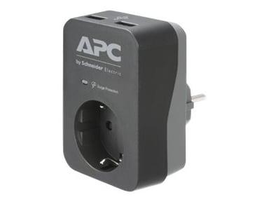 APC Essential Surgearrest PME1WU2B-GR 16A Extern 1st Grå Svart