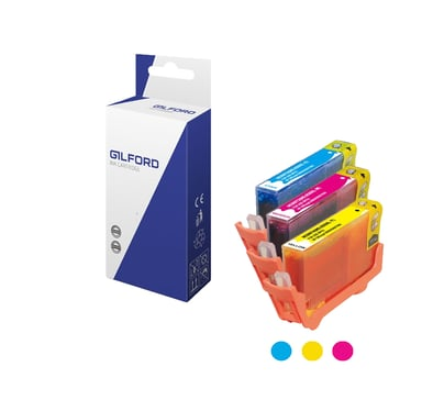 Gilford Bläck Färg Kit- C/M/Y/ 935
