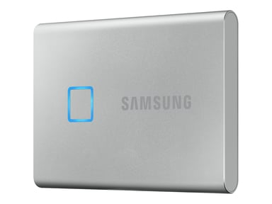 Samsung Portable SSD T7 Touch 0.5TB Silver