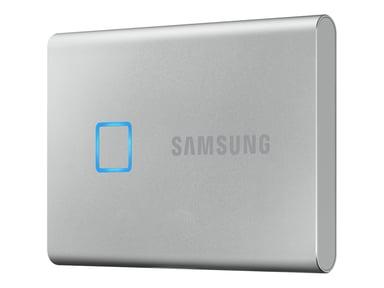 Samsung Portable SSD T7 Touch 0.5TB Sølv