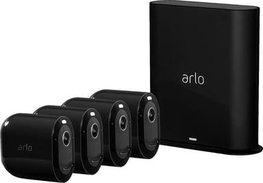 Arlo Pro 3 VMS4440B Base Station & 4 cameras