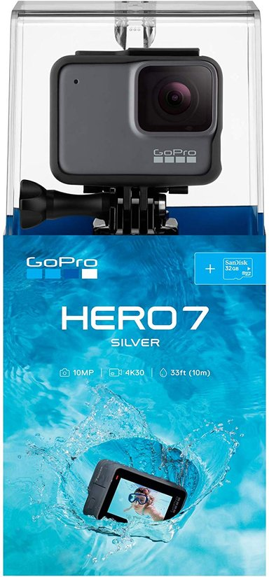 GoPro Hero7 Silver + 32 GB Micro SD null