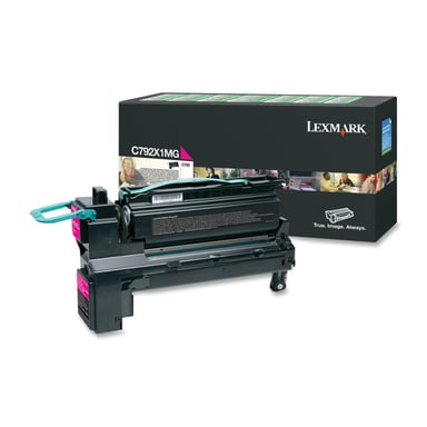 Lexmark Toner Magenta 20k - C792