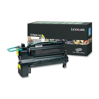 Lexmark Toner Gul 20k - C792