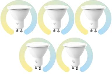 Prokord Smart Home Bulb Gu10 4.5W CCT 5-Pack