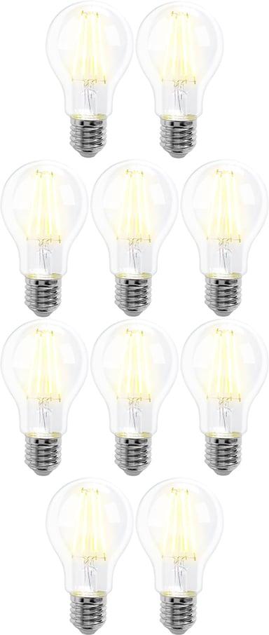 Prokord Smart Home Bulb E27 8W Warmwhite 10-Pack