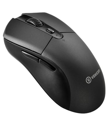 Voxicon Office Mouse Gr1000 (Bt+2.4G) 2,400dpi Mus Trådlös Svart