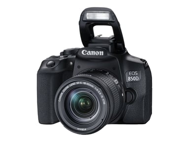 Canon EOS 850D + EF-S 18-55mm F/4-5.6 IS STM null